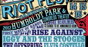 Chicago Riot Fest 2012 Line Up